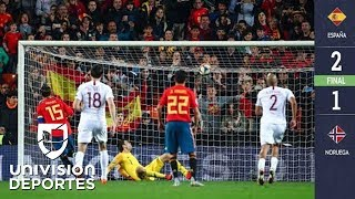 España 2-1 Noruega - GOLES Y RESUMEN - ELIMINATORIAS - Eurocopa 2020