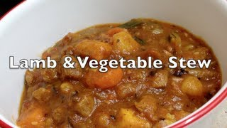 Lamb Vegetable Stew Video Recipe Cheekyricho
