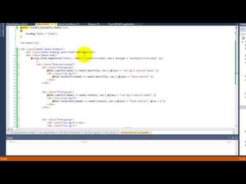 TinyMCE And Uploadify Integration ASP.NET MVC C# thumbnail