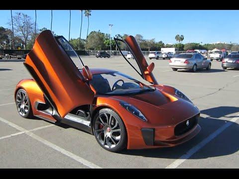 """Jaguar C-X75 """"Spectre"""" James Bond Movie Car"""