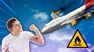 Cómo sobrevivir a un accidente aereo?