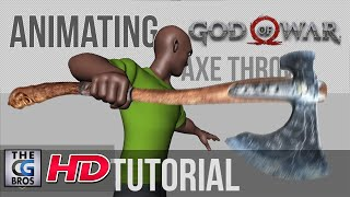 "CGI & VFX Tutorials: ""God of War Axe Throw"" - by Harvey Newman"