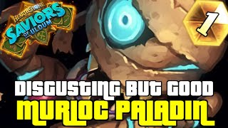 THIS DECK IS EASY WINS | GUIDE TO MURLOC PALADIN | SAVIORS OF ULDUM | HEARTHSTONE
