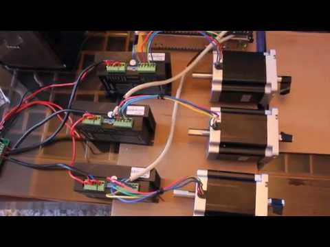 Longs 3 axis CNC kit part 1: wiring - YouTube on
