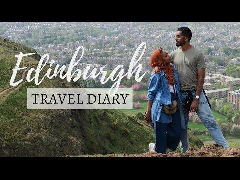 WE EXPLORE EDINBURGH VLOG   Part 1   + Halal Holiday Itinerary