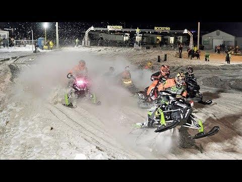 CSRA Snow Cross 2018 Highlights - Lindsay, Ontario - Snowmobile Racing