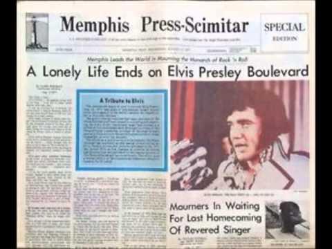 ELVIS Died Today: August 16, 1977 (audio tracks)