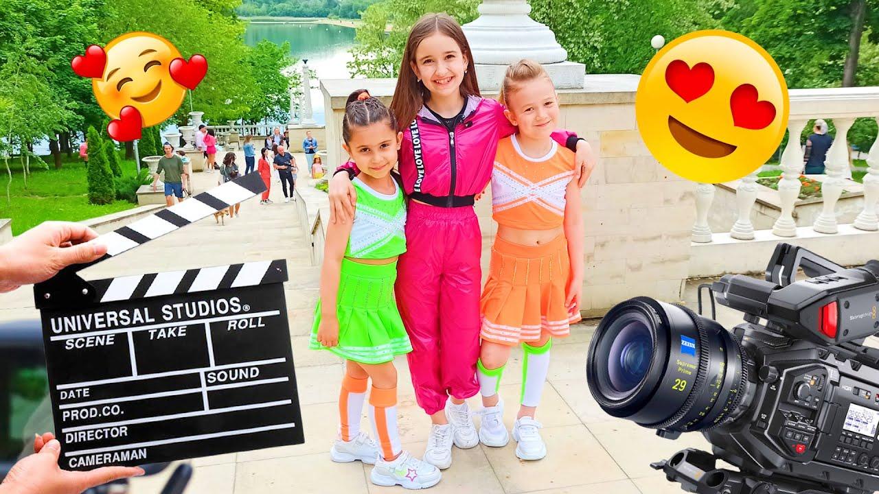 Download Întalnire cu Adela Borș😍 Filmăm un videoclip nou🎬 Making of Ciao Patricia Gurinel TV  Muzica copii