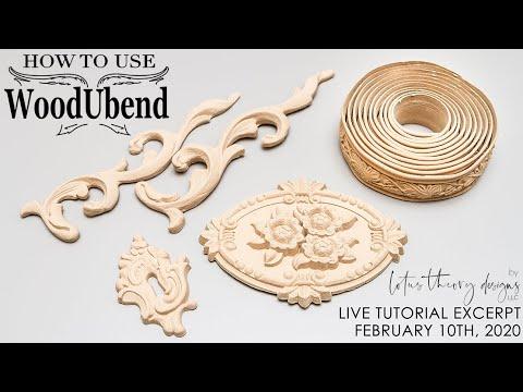How To Use WoodUBend Mouldings