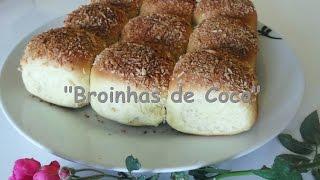 Receita Super Fácil – Broinhas de coco por Adilson G. Amaral