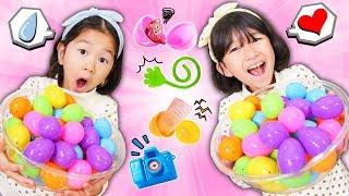 海外のおもちゃ♡イースターエッグから何が出る??サプライズエッグ大量に開けてみた! himawari-CH