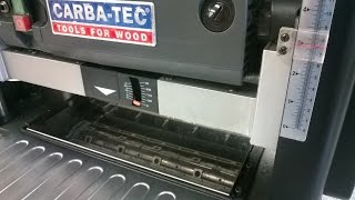 Carbatec Ct 330x Planer Thicknesser Tool Review # 15