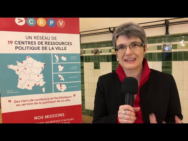 Interview de Murielle Maffessoli, co-présidente de Question de Ville