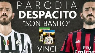 "VINCI FIFA18 GRATIS!! - PARODIA DESPACITO ""SON BASITO"" CONTEST FIFA 18 Video"