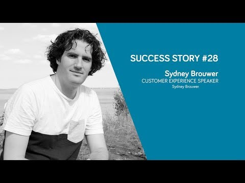 You have to add value – Sydney Brouwer [Success Story #28]