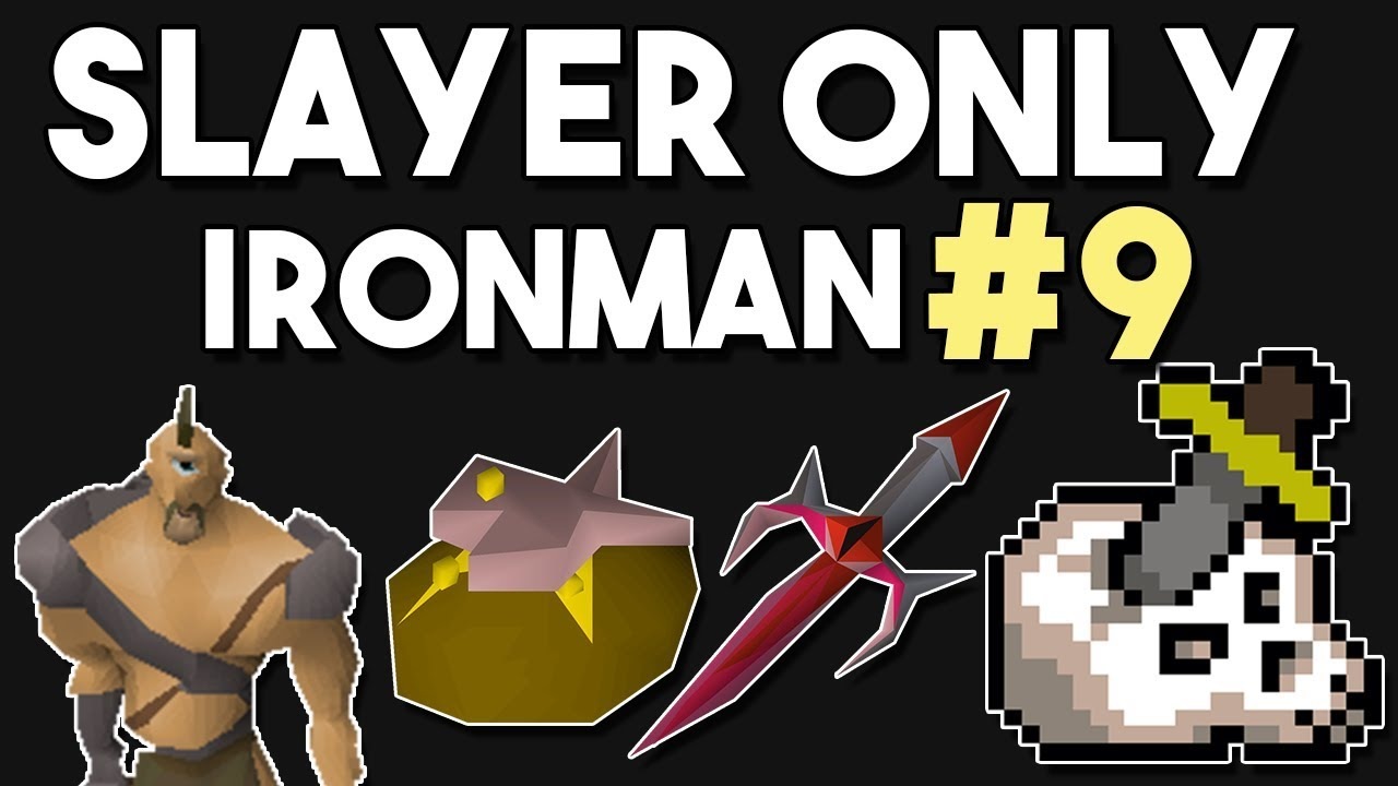I Will Need To Get Very Lucky To Unlock The Dragon Defender! - #9 - Slayer  Only Ironman [OSRS]