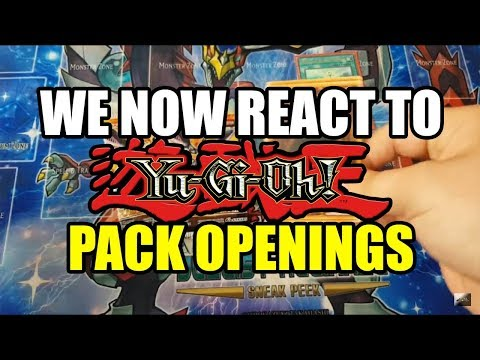 We now react to Yu-Gi-Oh! pack openings