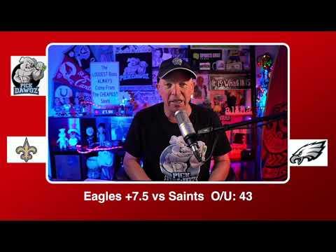 Philadelphia Eagles vs New Orleans Saints 12/13/20 NFL Pick and Prediction Sunday Week 14 NFL