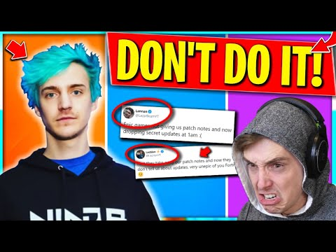 JARVIS SHOULDN'T BE BANNED Ninja Says.. Lazarbeam and Lachlan Mad at Epic