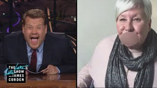 James Corden Invites His Mother to Co-Host