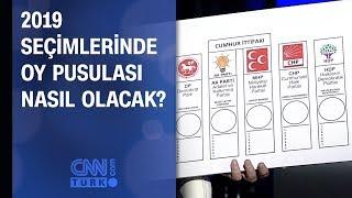 2019 seçimlerinde oy pusulası nasıl olacak?