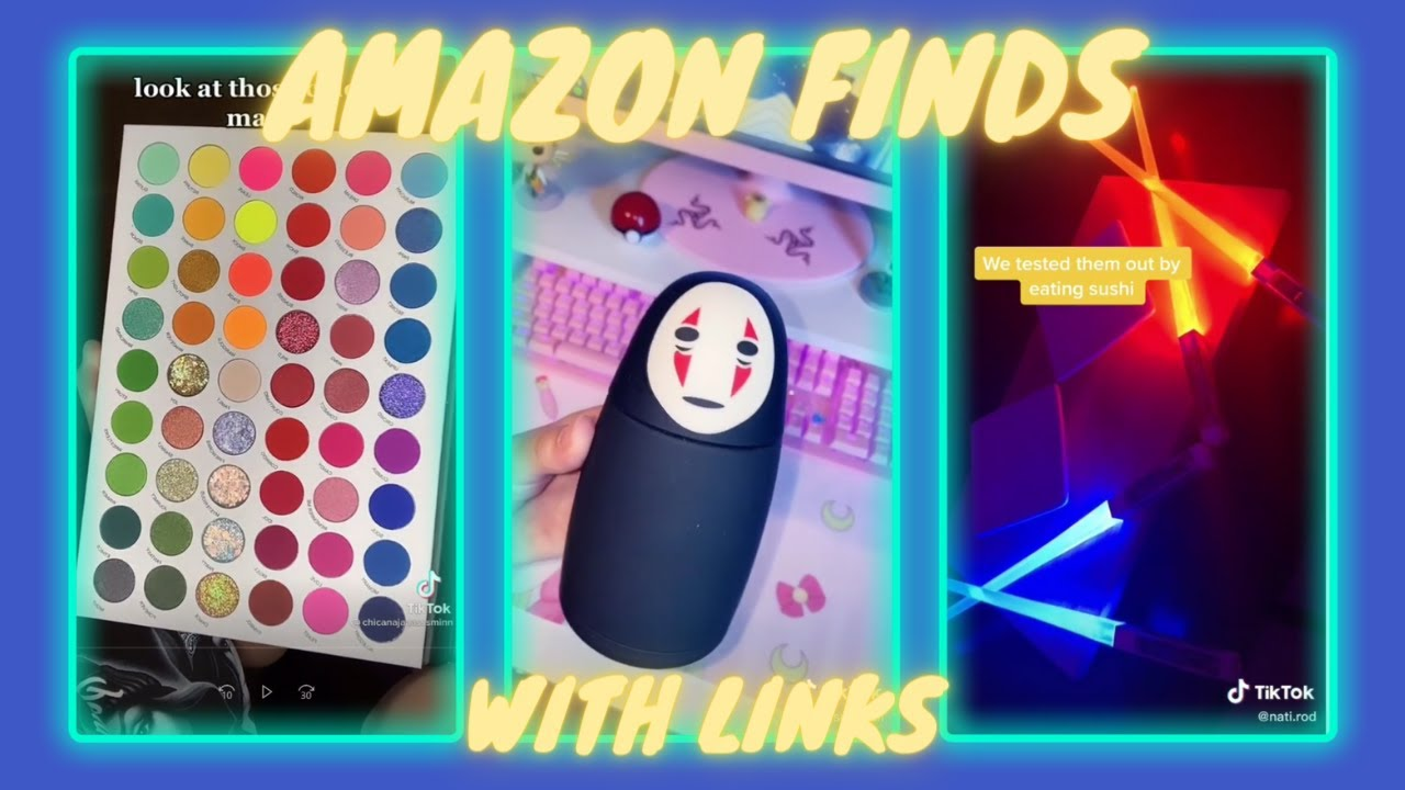 AMAZON FINDS WITH LINKS   TIKTOK MADE ME BUY IT