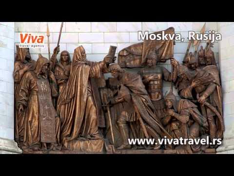Put u Moskvu - Viva travel
