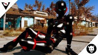 Fallout 4 Mods *Nyx Suit Mod Showcase*