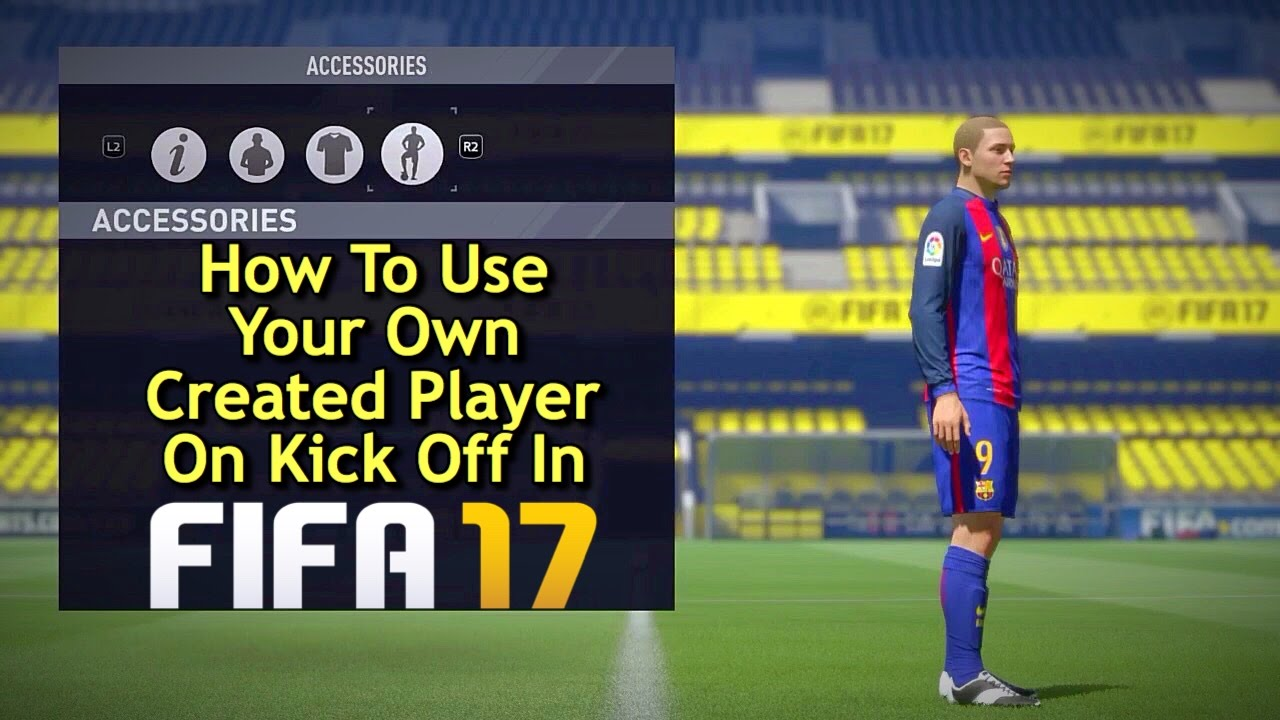 Create player career mode fifa 18 muniesa fifa 2018