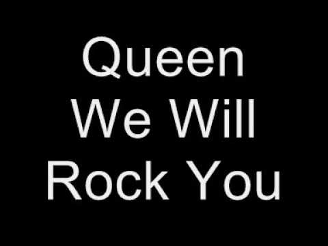 queen we will rock you lyrics youtube. Black Bedroom Furniture Sets. Home Design Ideas