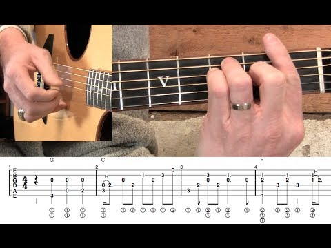 How Great Thou Art- Fingerstyle Guitar Lesson - YouTube