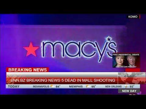 5 Shot Dead in Macy's Makeup Department in Cascade Mall - BREAKING NEWS