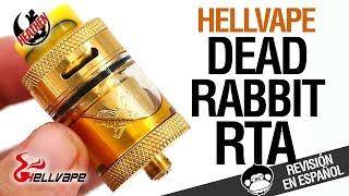 Hellvape DEAD RABBIT RTA by Heathen / VUELVE EL CONEJITO MUERTO / revisión