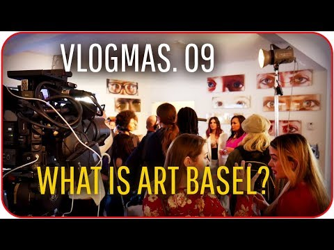 ART  😁 EVERYWHERE ART BASEL 2017 / Vlogmas 9 Villas Channel