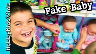 Scrubbin Bubbles Hunt! Don't Punch a Baby + Toys, Weird Games HobbyKidsVids