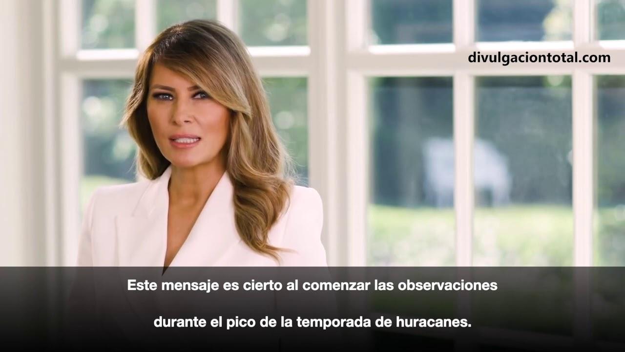 04-SEP-2020 Mensaje de la Primera Dama Melania Trump por el Mes Nacional de Preparación