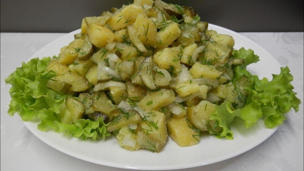 Улетный салат из картофеля на каждый день
