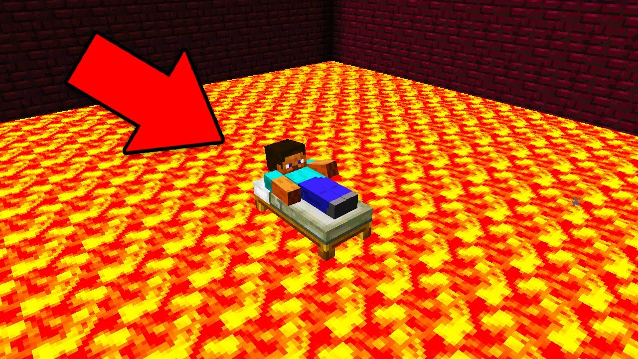The floor is lava in minecraft pocket edition youtube for Lava parquet