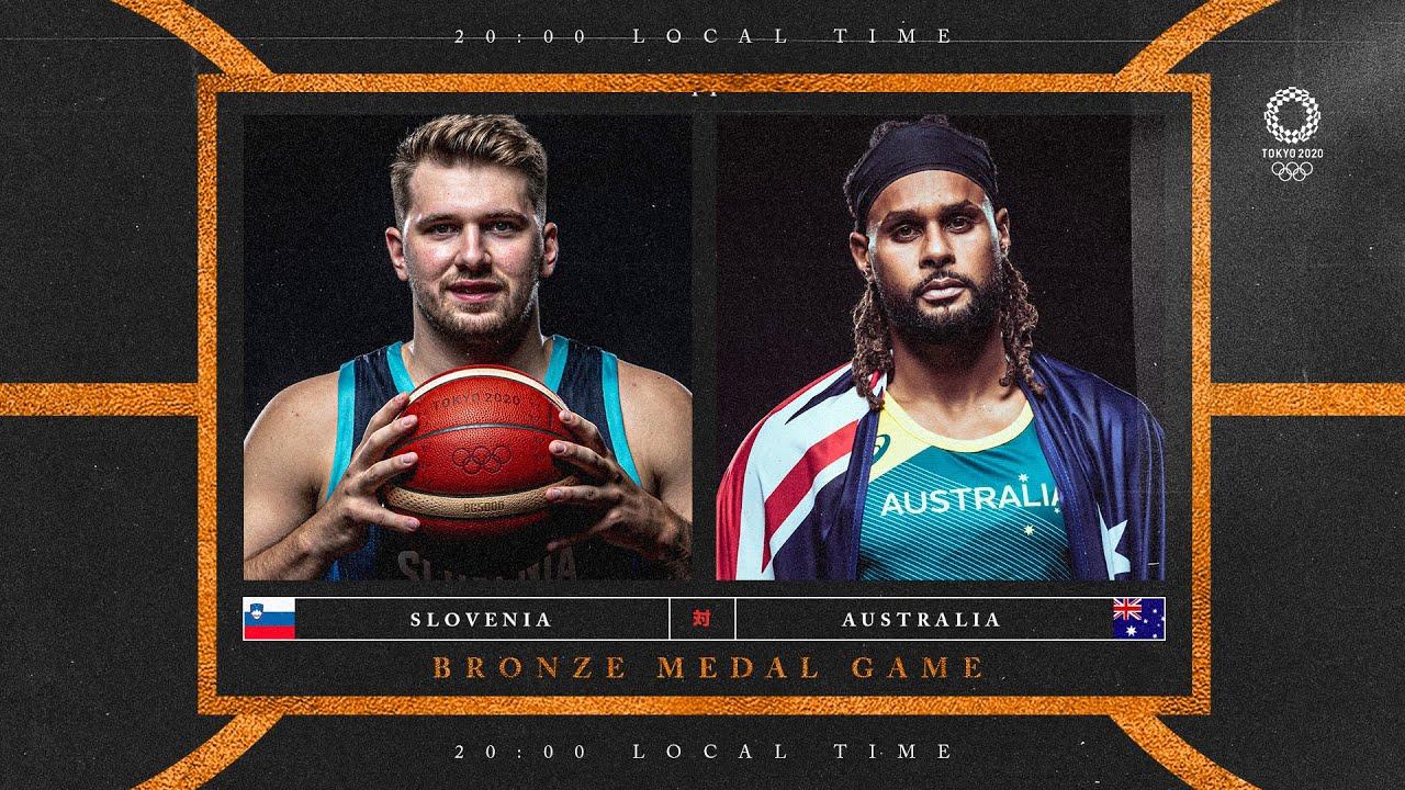 Slovenia v Australia - Watch along party | #Tokyo2020 ⚡ #Basketball