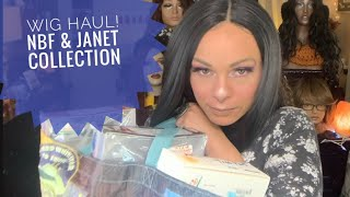 Affordable Wig Haul!! New Born Free & Janet Collection   See What I Have To Review!!