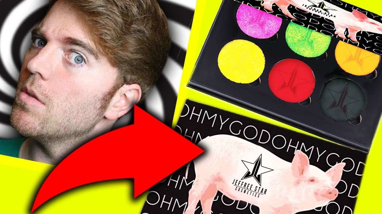 SHANE DAWSON \u0026 JEFFREE STAR PALETTE!