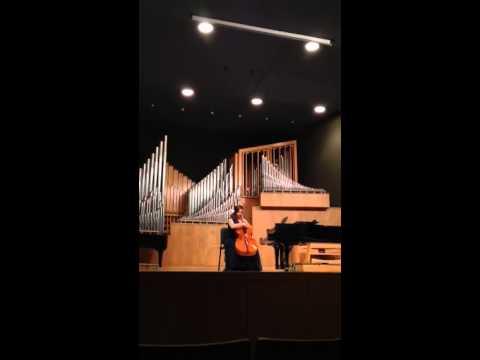 JulieO Elizabeth Rice senior cello recital