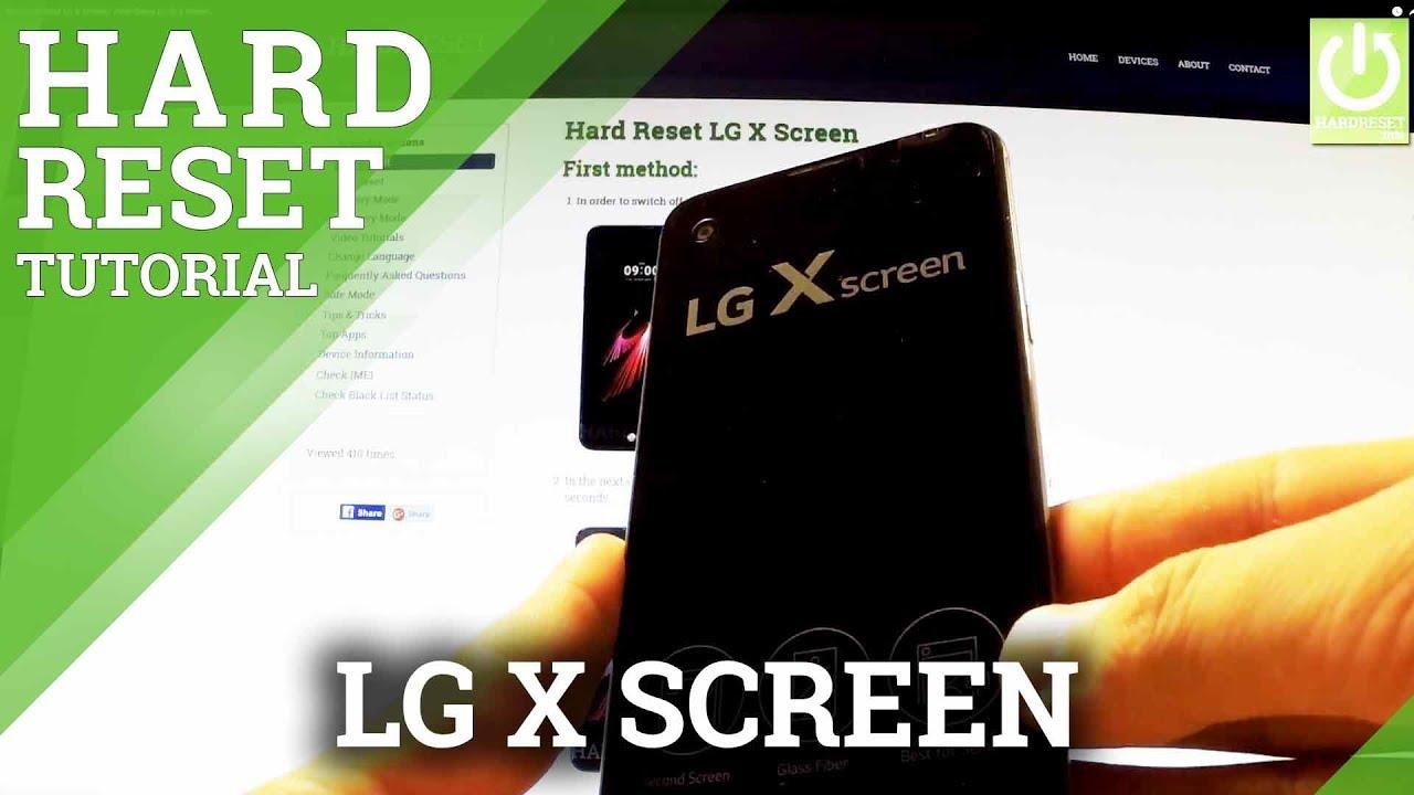 Hard Reset LG Tribute HD LS676 - HardReset info