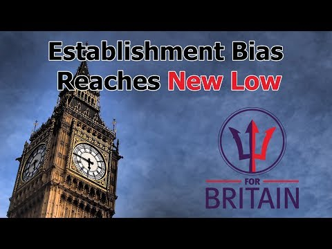 Establishment Bias Reaches New Low
