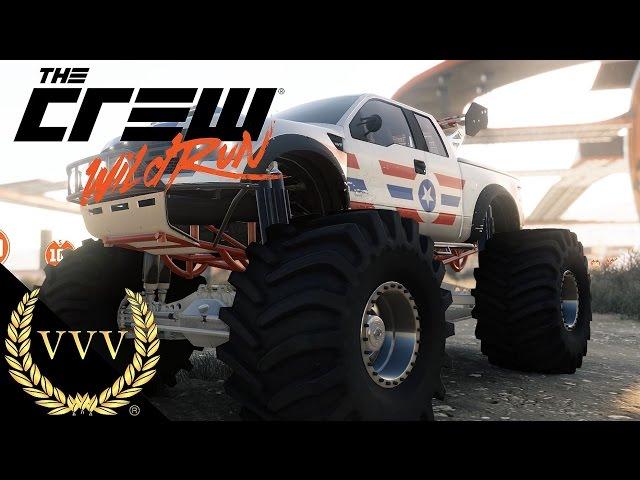 The Crew Wild Run Preview - Monster Trucks
