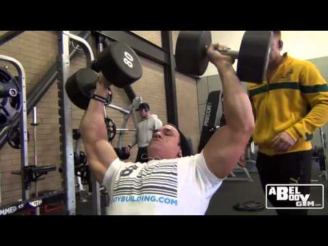 Arnold Classic, Shoulder workout