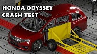 2018 Honda Odyssey Safety Crash Test