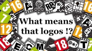 What means that logos !? (pegi & ESRB)