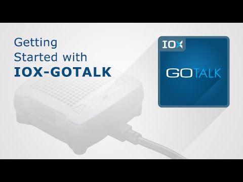 Getting Started with IOX-GOTALK - Geotab Marketplace