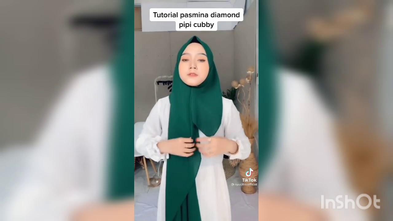 2 Tutorial Hijab Modern Ala Tiktok Youtube